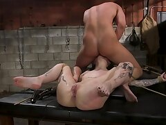 The combination for hard sex with an increment of BDSM makes her orgasm