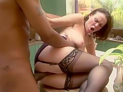 Exotic pornstar Veronica Snow in fabulous brazilian, facial sex video