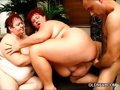 Old Fatties Threesome