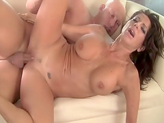 Crazy pornstar Tara Holiday in best cunnilingus, latina adult movie