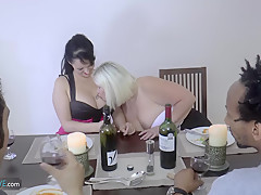AgedLovE Lacey Star Hardcore Groupsex With Friends