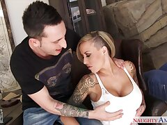 New dad's harpy Alexia Vosse turned broadly to be a really hot mistress