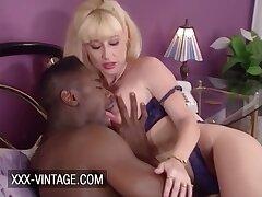 Greta Carlson Retro Interracial Sex