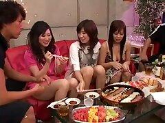 Exotic Japanese girl in Fabulous Group Sex JAV clip