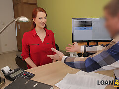 LOAN4K. Heady redhead wants a vet clinic together with knows