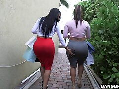 Lesbians are keen to work their wet vags alongside a mutual play