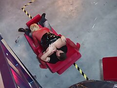 Screaming blonde MILF on submissive XXX action