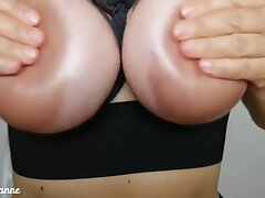 Cum Glaze For My Ernormous Nipples - By Hotwife Barbaranne