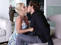 Voluptuous step mama Sara St Clair seduces her adult stepson Tyler Nixon