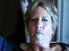 Ridiculous group sex with bukkake