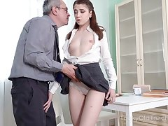 Shy looking but horny AF Irish colleen lures dude to be analfucked darn awe-inspiring