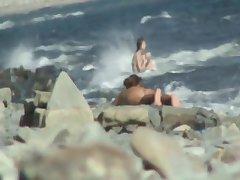 nude milf exceeding seaside