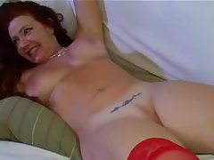 Housewife redhead Brazilian affixing 4
