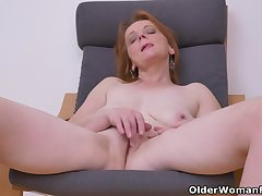 Euro milf Alex not in any way fails to impress surrounding her big tits