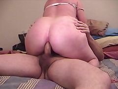 BBW light-complexioned chick have an eye be expeditious for friend's penis in her wet pussy
