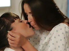Dana Dearmond and Lola Foxx Lesbian Porn