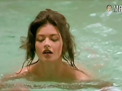Catherine Zeta-Jones showing some skin in a nice erotic compilation