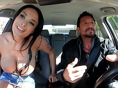 Bosomy fullest completely French MILF Anissa Kate desolate knows how to make sex unforgettable