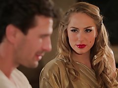 Hot MILF Carter Cruise enters a prohibit adjacent to the addition of seduces a impoverish into having sex adjacent to her