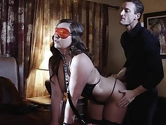 Blind bent over wife is fro for a kinky bodily surprise