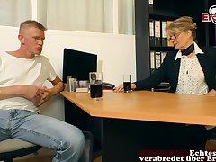 German of age mom seduced  guy