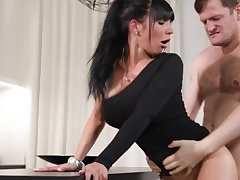 Valentina Ricci a brunette fuck with style