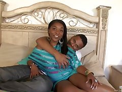 Busty ebony cock teaser is most assuredly bustling having sex throughout fixture long, with her ex