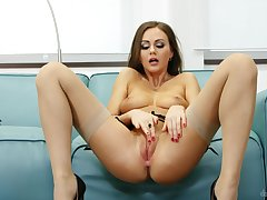 XXX by oneself compilation featuring Polina Max, Alexis Field-glasses plus others