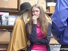 Mature cookie and say no to stepdaughter get punished for shoplifting