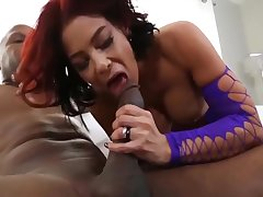 Bodacious Milf In Stockings Sucks And Fucks A Big Swarthy Dig up - Prince Yahshua